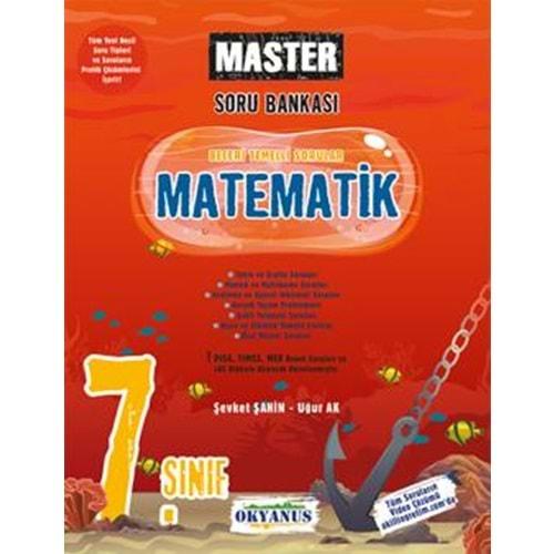 OKYANUS 7.SINIF MASTER MATEMATİK SORU BANKASI