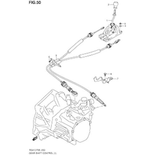 Suzuki Swift 05-10 Vites Teli