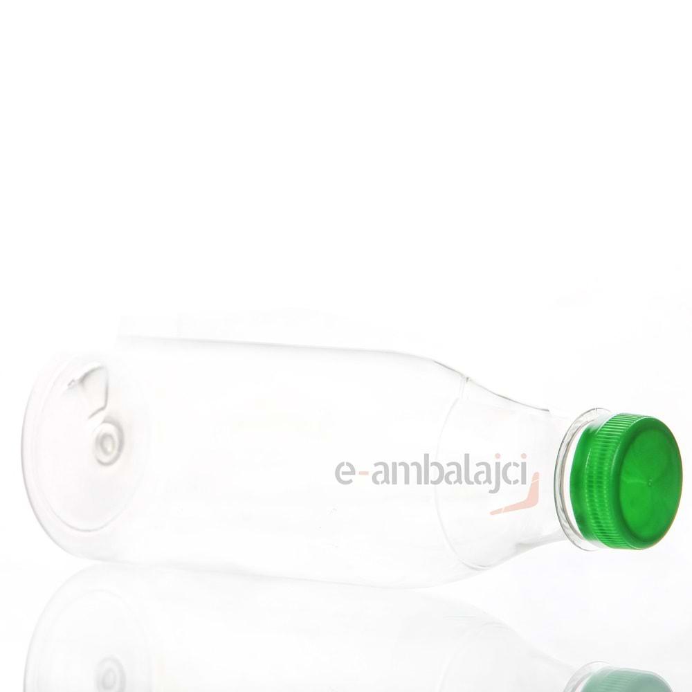 650ml PET Şişe ve Yeşil Kapak