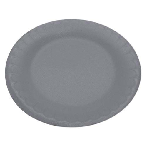 Erze Beyaz Yuvarlak Küçük Boy Köpük Tabak 100 Adet