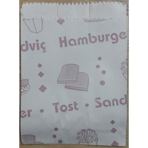 Küçük Boy Körüklü Sandviç Kese Kağıdı 10 Kg