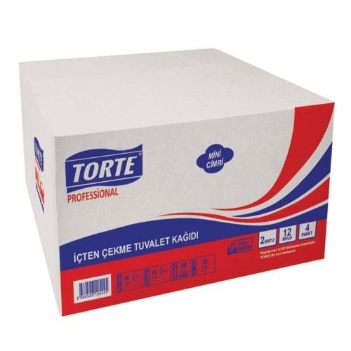 Torte İçten Çekmeli Tuvalet Kağıdı Koli