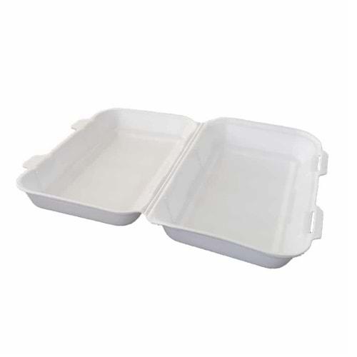 Erze Beyaz Kapaklı Sandviç Kabı (Mod 36/DZ) 100 Adet