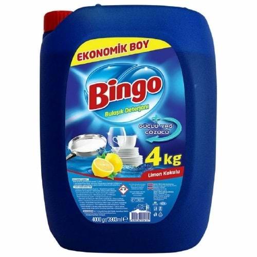 Bingo Limon Kokulu Bulaşık Deterjanı 4 Kg