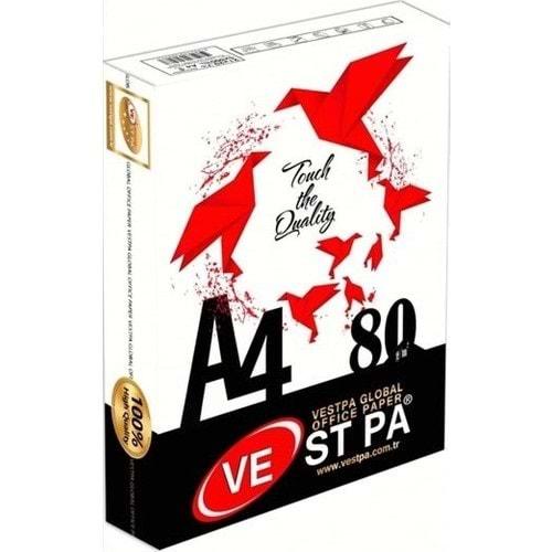 Vestpa A4 Kağıt 80 Gr 500 lü