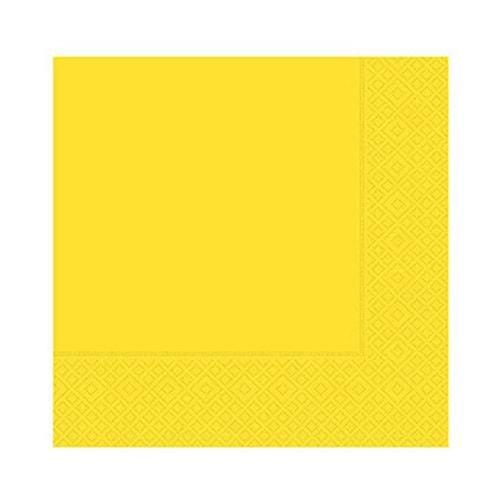 Roll-Up Çift Katlı Sarı Peçete 33 Cm x 33 Cm 20 li