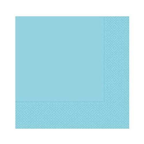 Roll-Up Çift Katlı Açık Mavi Peçete 33 Cm x 33 Cm 20 li