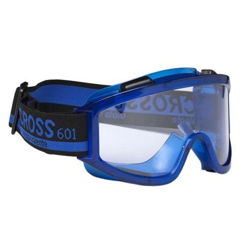 Koruyucu Gözlük Cross 601 Şeffaf