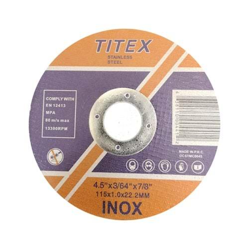 İthal İnox kesme 115 mm