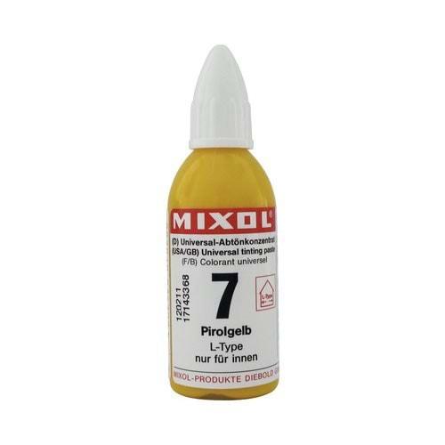 Mixol Renk Tüpü Kanarya Sarısı No:7 - 20ml