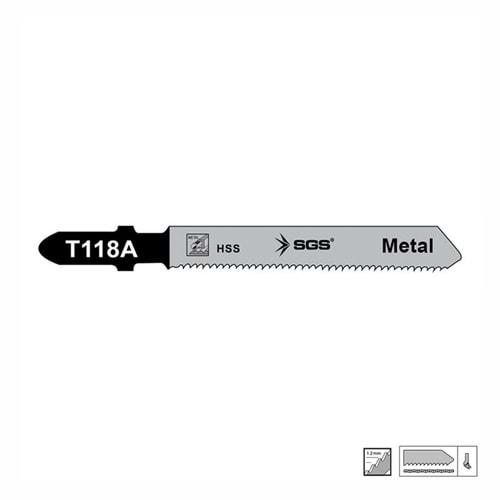 SGS Metal Dekupaj Ağzı 77mm x 7,9mm 5 pcs.