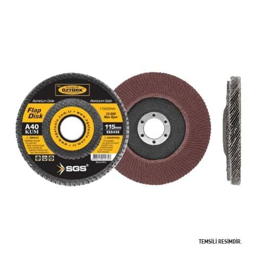 SGS Flap Disk 180mm - P60 Kum