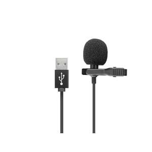 HADRON HD569 MİKROFON PC YAKA USB 1.5MT