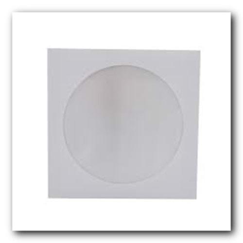 OYAL | CD ZARFI 12.5x12.5 90 gr BEYAZ PENCERELİ