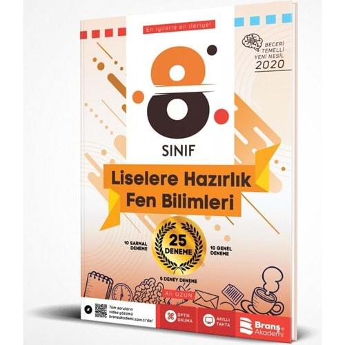 BRANŞ | 8. SINIF LGS FEN BİLİMLERİ 25 DENEME-2021