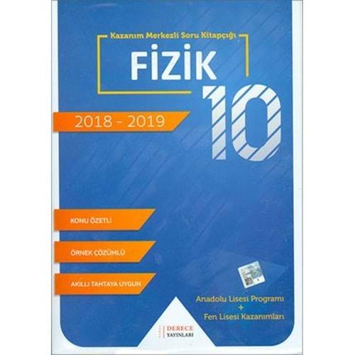 DERECE   10. SINIF FİZİK SET - 2022