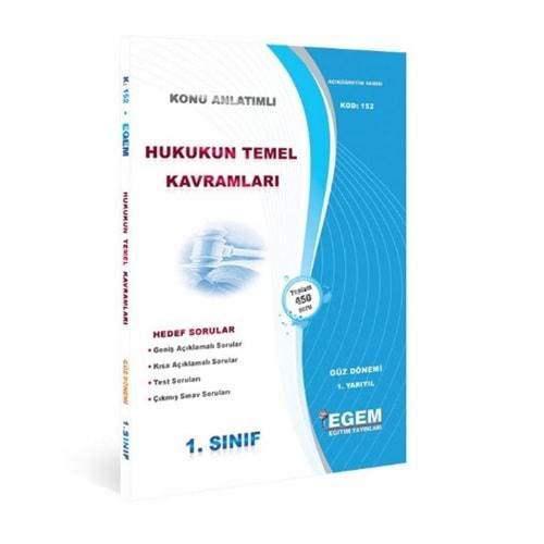 EGEM | 1. SINIF HUKUKUN T.KAVRAMLARI HEDEF SORULAR