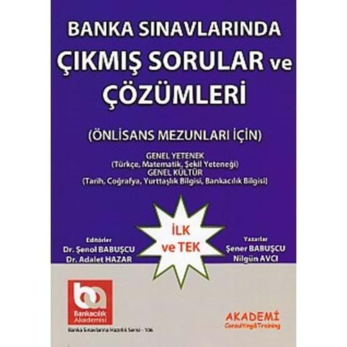 AKADEMİDENİZİ | BANKA SINAVLARINA HAZIRLIK LİSE CE ÖNLİS.