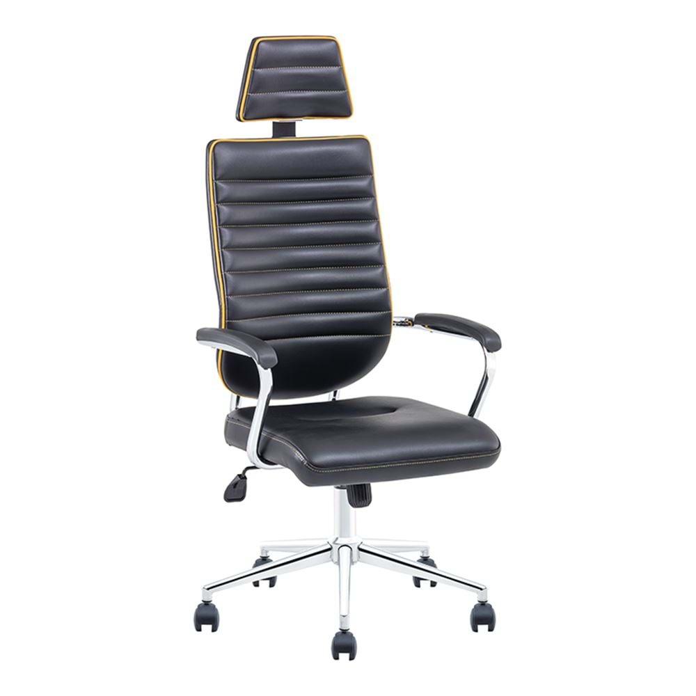 Uzay Ofis Ronın Müdür Koltuğu - Siyah - Sarı