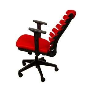 Uzay Ofis Mira Çalışma Koltuğu - Ayarlı Kolçak - Kırmızı
